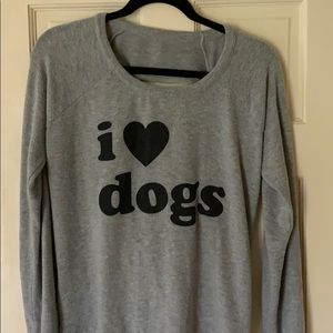 "Chaser ""I 🖤 DOGS"" sweatshirt"